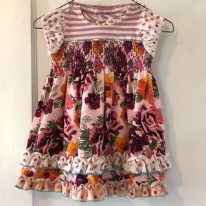 Matilda Jane dress with bloomer set